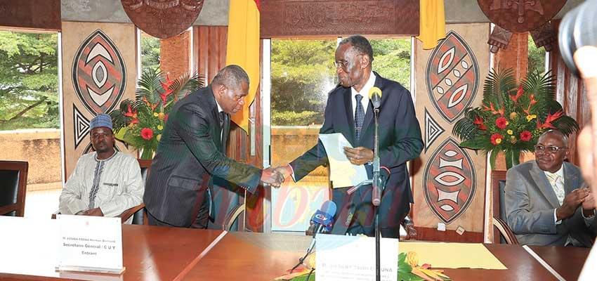 Communauté urbaine de Yaoundé: le nouveau secrétaire général en poste