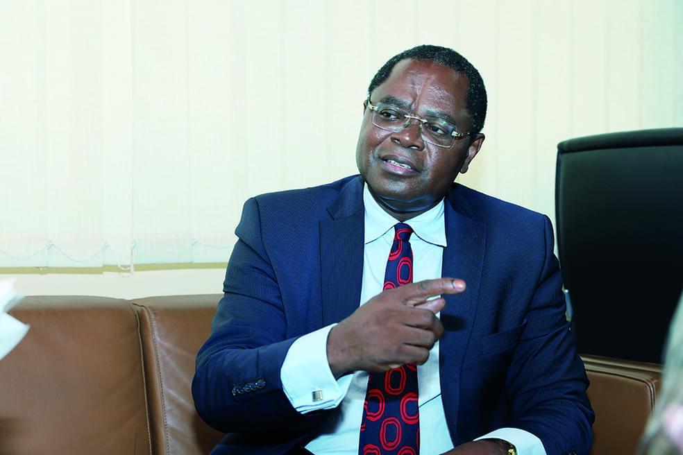 Valentin Mbozo'o : « Il s'agit d'assurer une meilleure traçabilité des flux financiers intra et extra CEMAC».