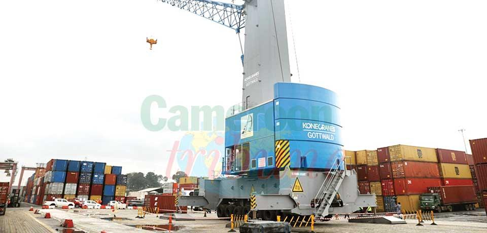 Régie du terminal à conteneurs : de nouveaux équipements à quai