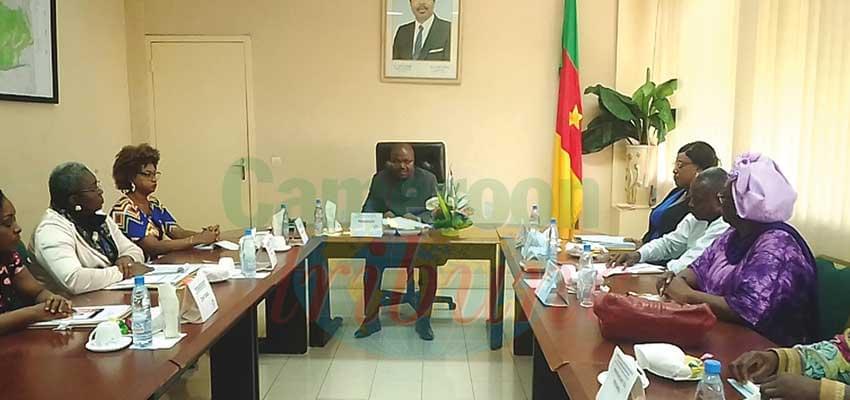 Le Conseil régional de discipline pendant les travaux.