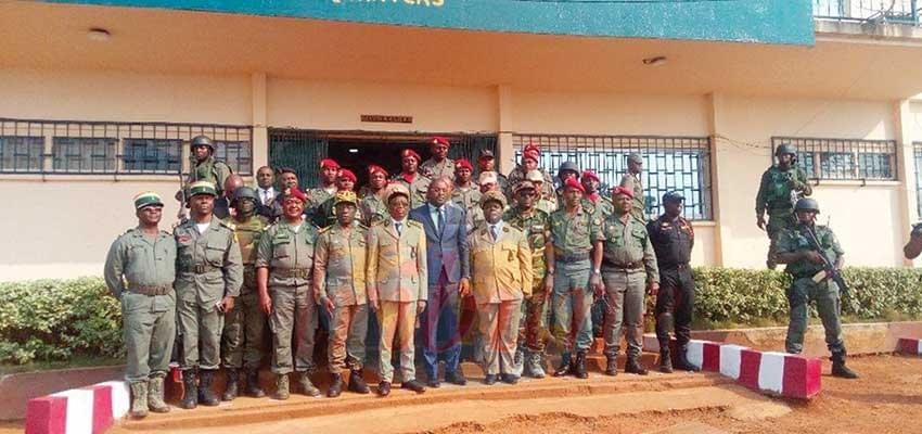 North West : Security Forces Receive Morale Booster