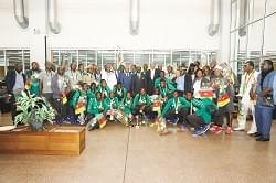2019 U-17 AFCON: Hero's Welcome For Cadet Lions