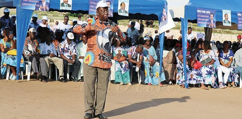 Image : Nkol-Afamba: promesse de 100% à Paul Biy