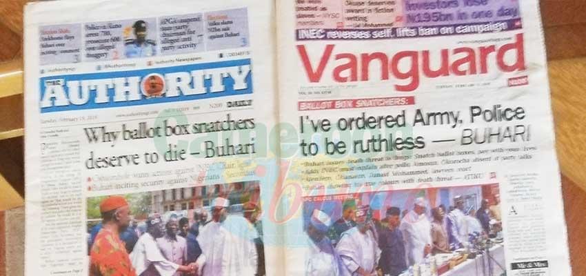Image : Présidentielle nigériane: le matériel électoral déjà distribué