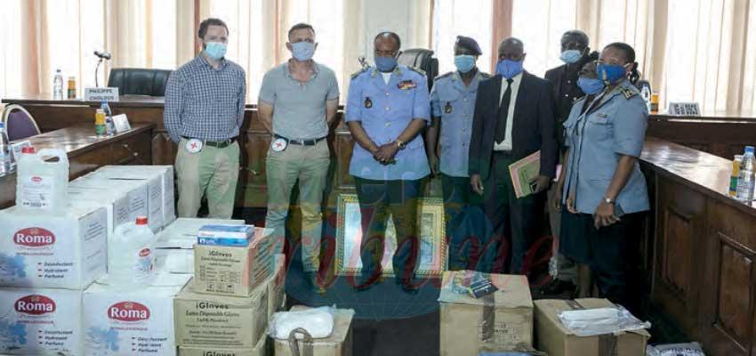 Sécurité sanitaire  : la Croix-rouge soutient la Police nationale