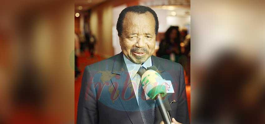 Paul Biya : « Nous sommes décidés à combattre le paludisme. Nous ne nous décourageons pas. »