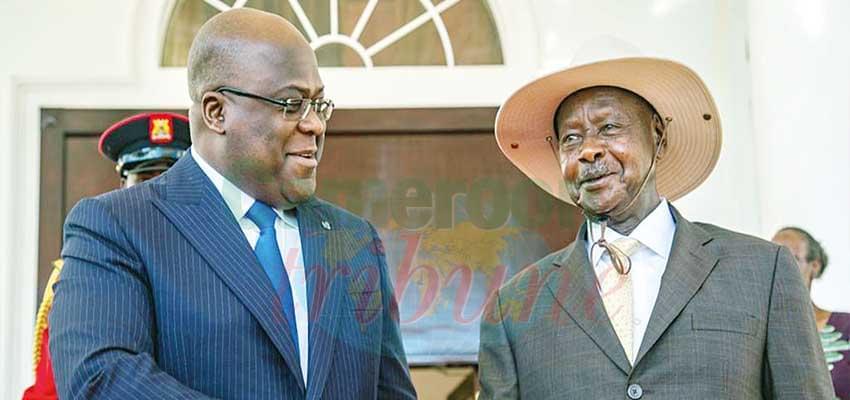Félix Tshisekedi-Yoweri Museveni : la normalisation reprend droit de cité.