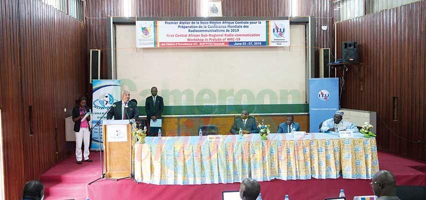 Développement des radiocommunications:L'Afrique centrale harmonise ses positions