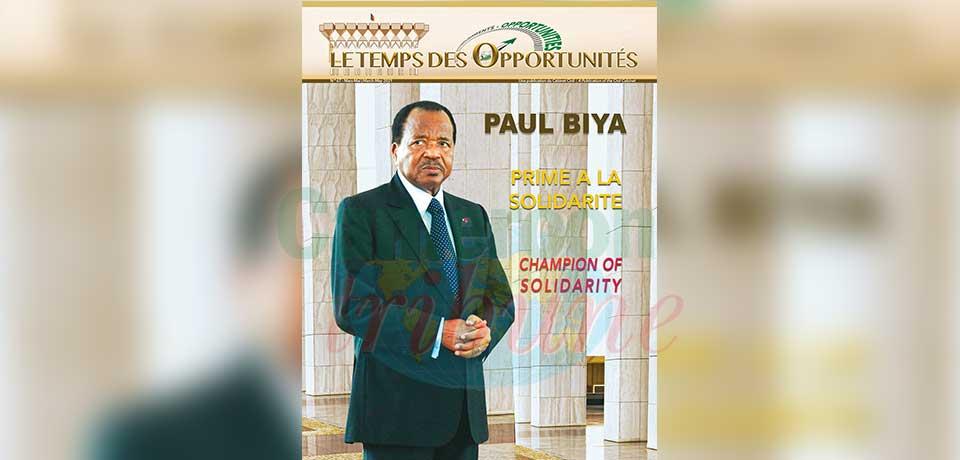 Paul Biya : passionnément humanitaire