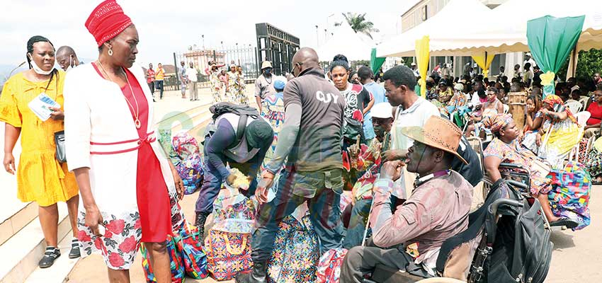 Communauté urbaine de Yaoundé  : aux côtés des nécessiteux