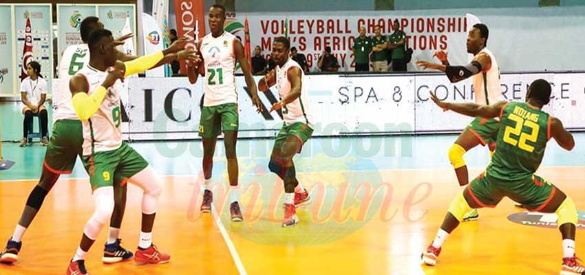 CAN de volley-ball messieurs : le Cameroun en demi-finale