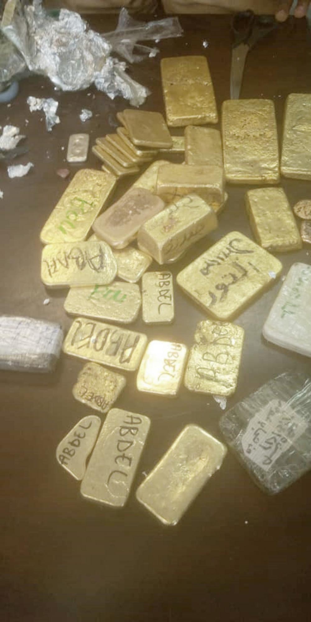 Faits divers : 38 lingots d'or saisis à l'aéroport