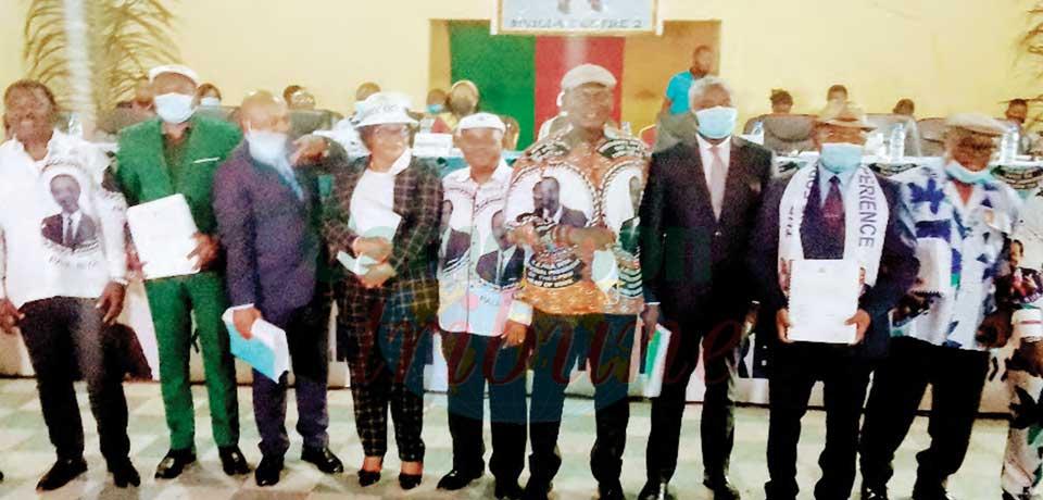 Renouvellement des organes de base du RDPC : la Mvila évalue la première étape