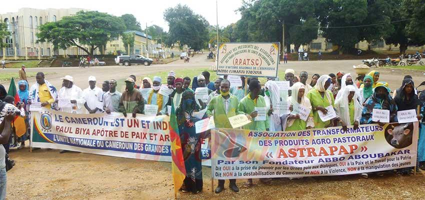 Manifestations contre les institutions : Ngaoundéré donne de la voix