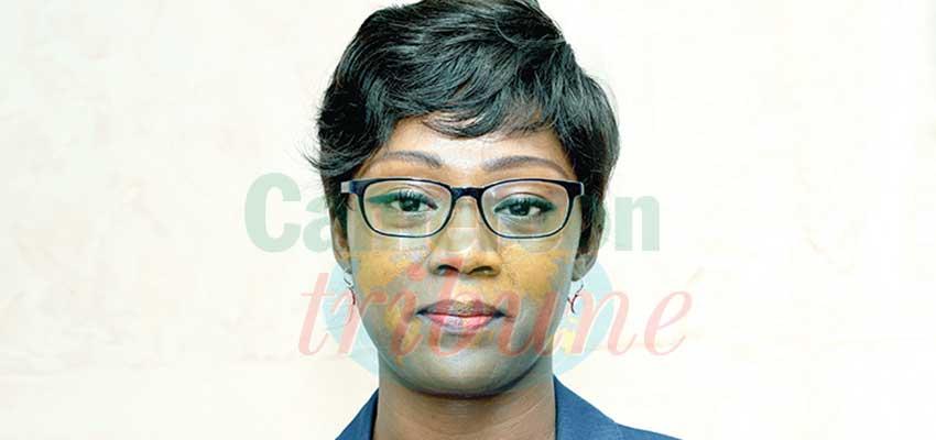 Barbara Elemva-Amana, chef de la brigade nationale de contrôle et de répressions des fraudes au ministère du Commerce.