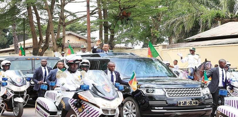 Investiture du président Paul Biya: Yaoundé en fête: