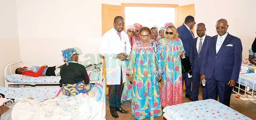 Le nouveau visage de l'hôpital de district de Galim.