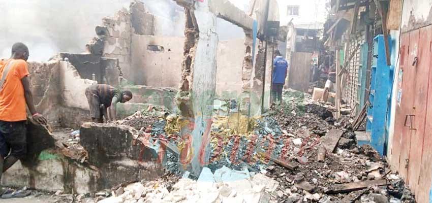 Marché Mboppi  : lendemains de sinistre