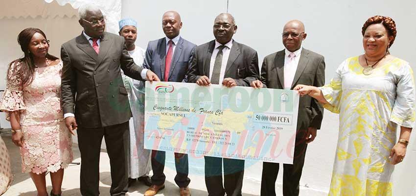 Douala : 50 millions F pour une entreprise