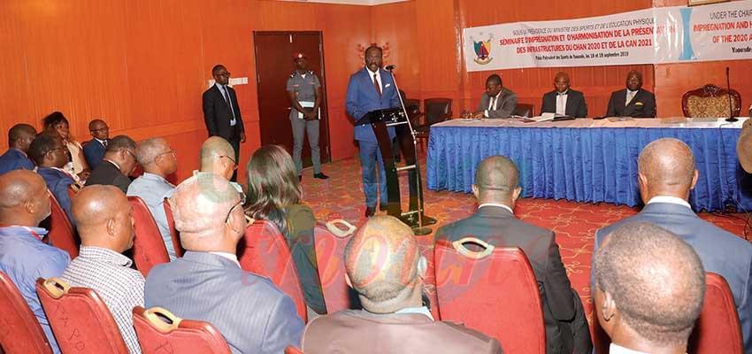 CHAN Cameroun 2020 : on prépare la visite d'inspection de la CAF