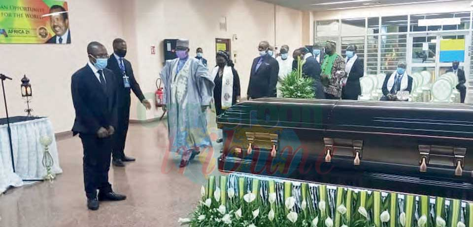 Simon Achidi Achu : Mortal Remains Back Home For Burial