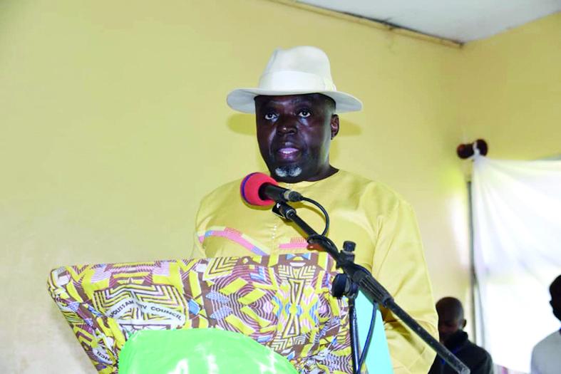 Roger Tafam, maire de la ville de Bafoussam.