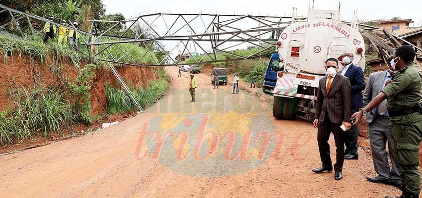 Incident la ligne électrique Oyomabang-Nomayos : la réhabilitation en cours