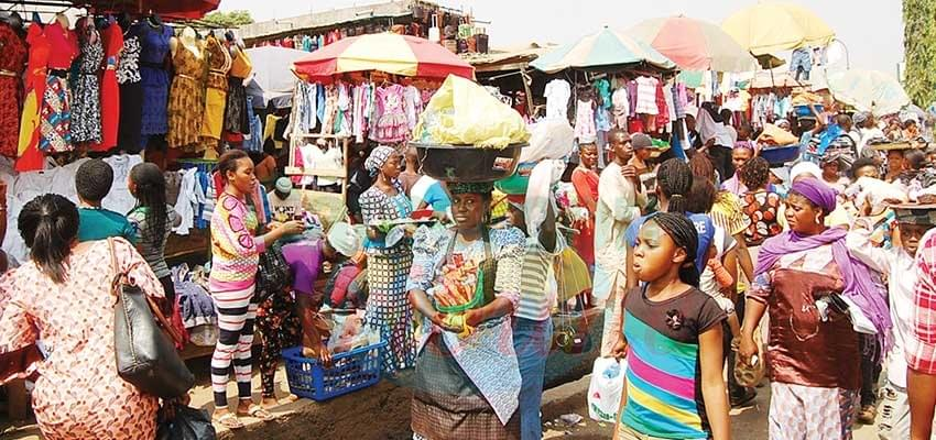 After Elections: Nigerians Back To Work