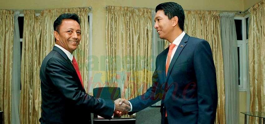 Image : Madagascar Presidential Vote: Rajoelina, Ravalomanana Debate