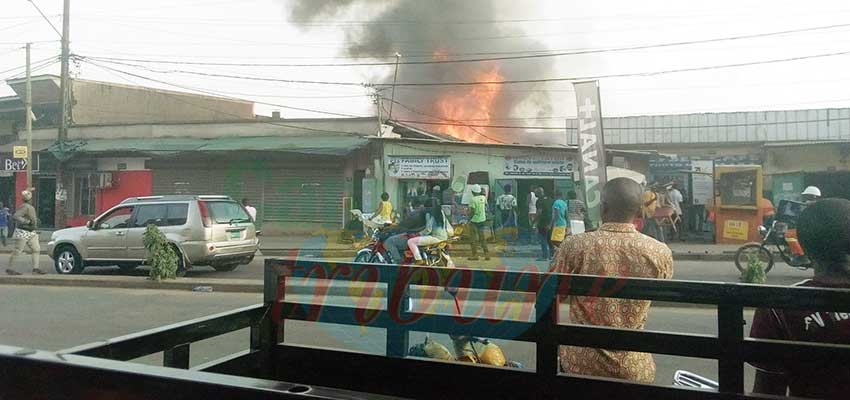 Deido: une concession ravagée par les flammes