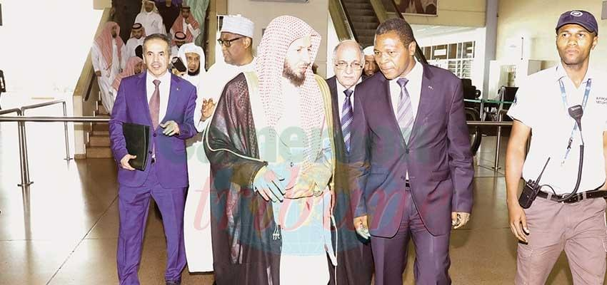 Cameroon-Saudi Arabia Relations: Speaker of the Holy Mosque in Yaounde