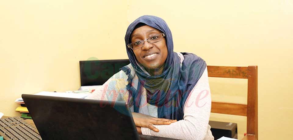 Nafissa Yougang Tame, directrice générale de l'Organisation des femmes pour l'Islam sans frontière et directrice du Centre de formation Ombrage des jeunes filles musulmanes.