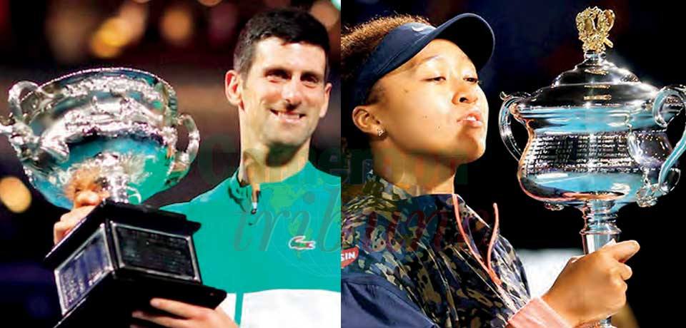 Australian Open : Novak Djokovic, Naomi Osaka Triumph