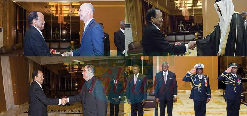 Palais de l'unité : tapis rouge pour trois nouveaux ambassadeurs