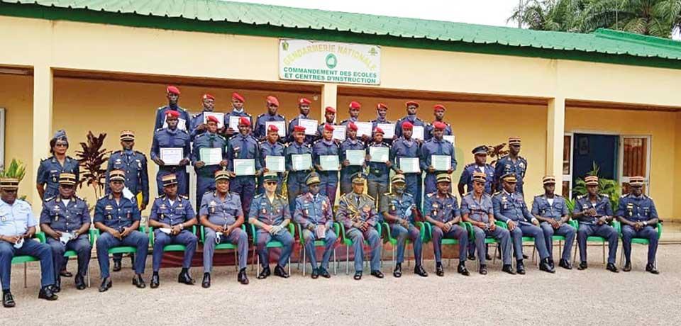 Gendarmerie nationale : fin de formation pour 970 gendarmes