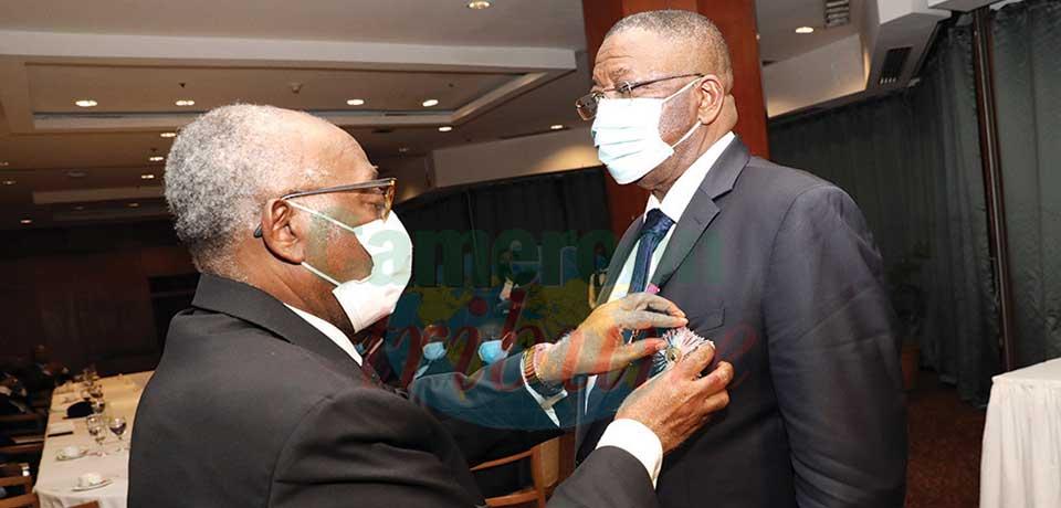 Cameroun-Congo : l'ambassadeur honoré