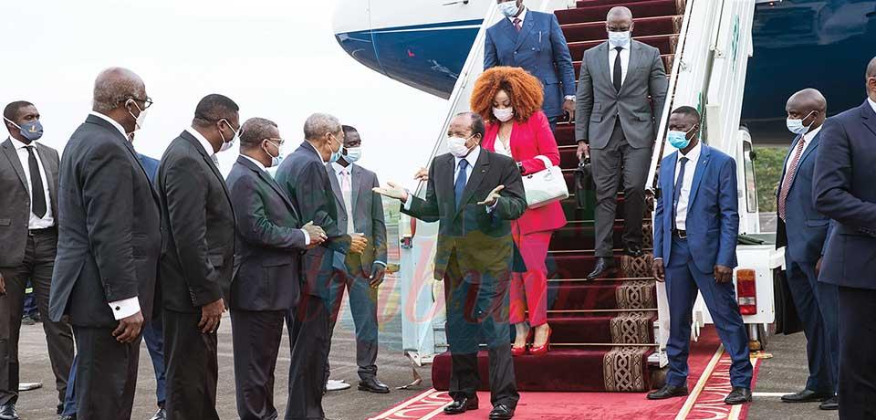 Paul Biya de retour