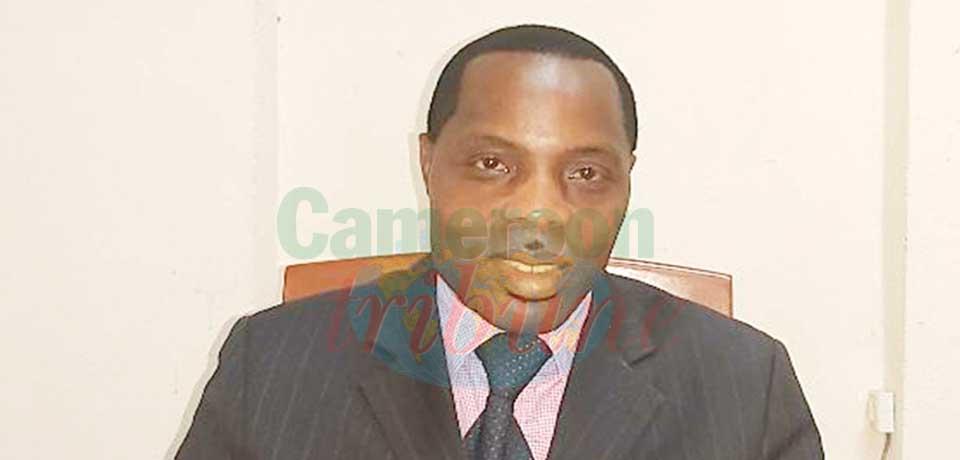 Gaston Wouafeu, directeur du Centre d'information et d'orientation professionnelles.
