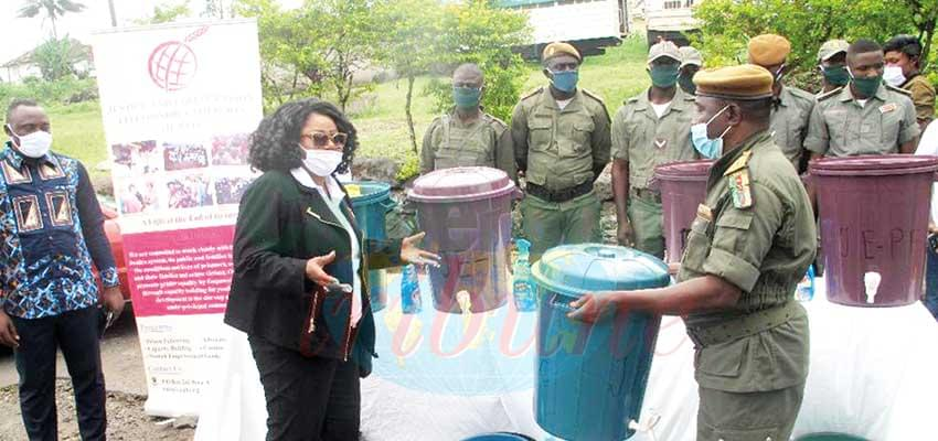 Buea Central Prison Receives Hand Washing Facilities