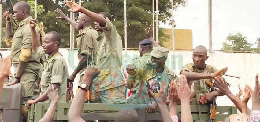Mali : le président en détention