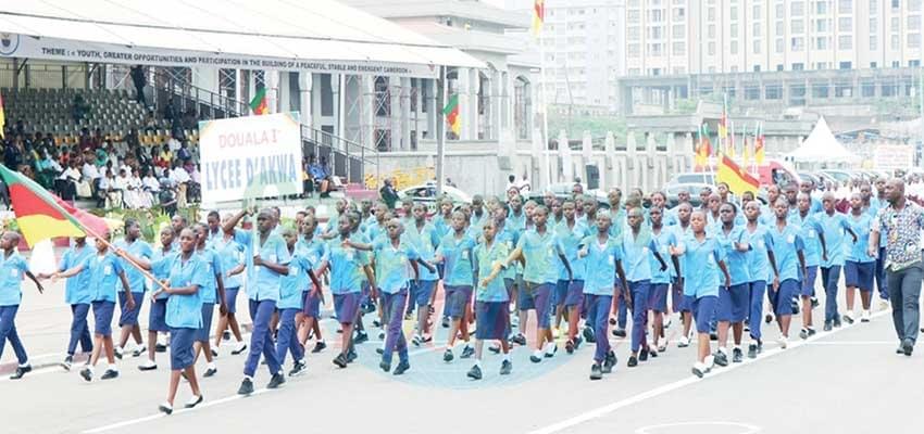Image : Douala : patriotisme affiché