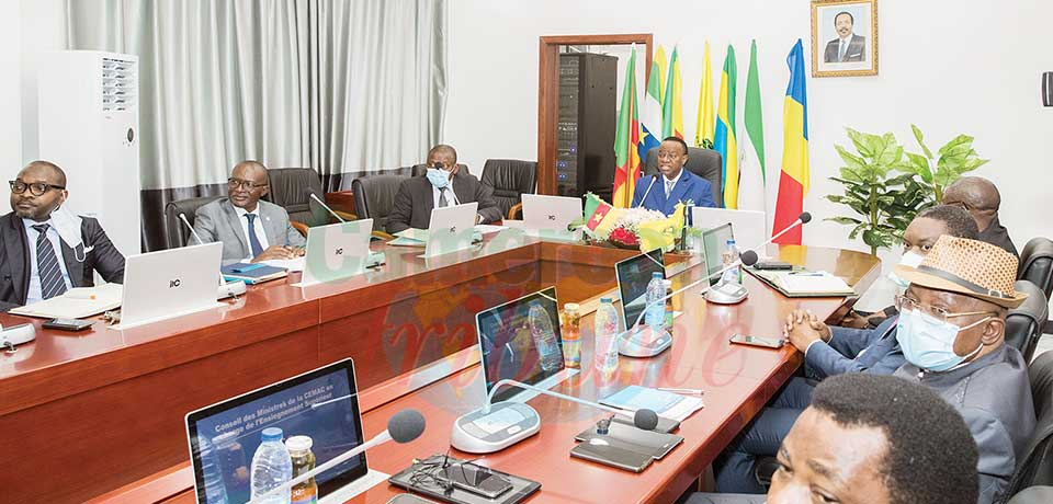 Higher Education : CEMAC Ministers Reinforce Platform