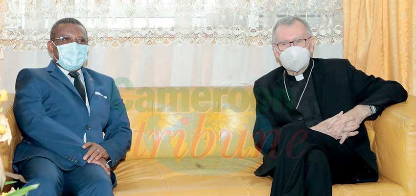 Yaoundé : fin de séjour pour le cardinal Parolin