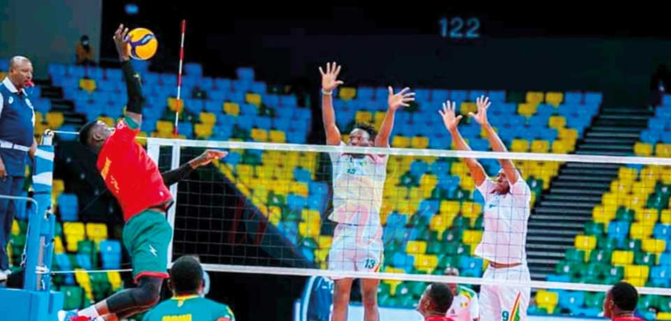 Men's African Nations Volleyball Championship : Cameroon Secure Quarterfinal Spot