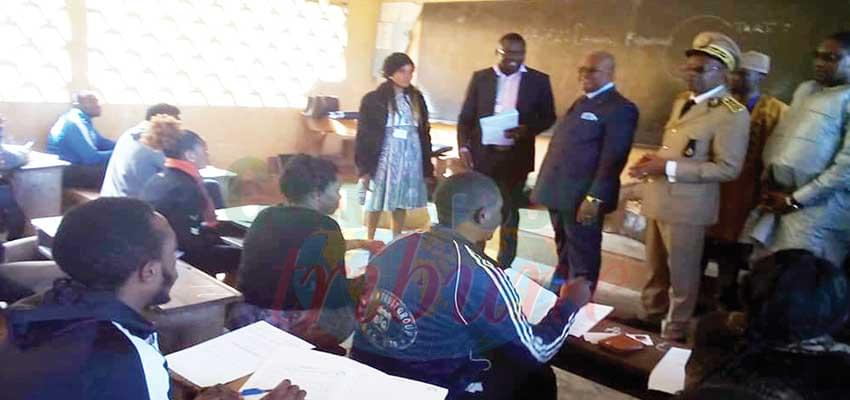 Evaluating the conduct of the 2019/2020 examination in Bamenda.