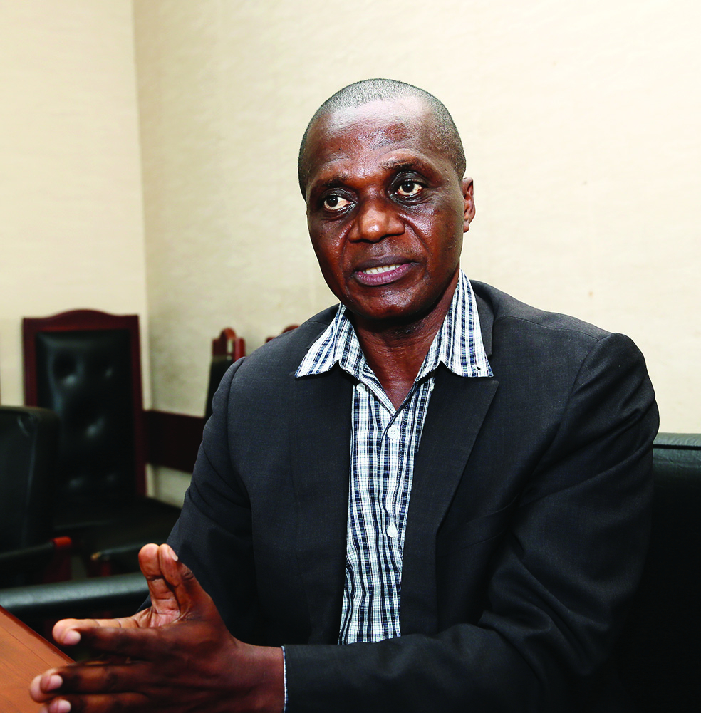 François Djonou, président de l'Interprofession avicole du Cameroun (Ipavic).