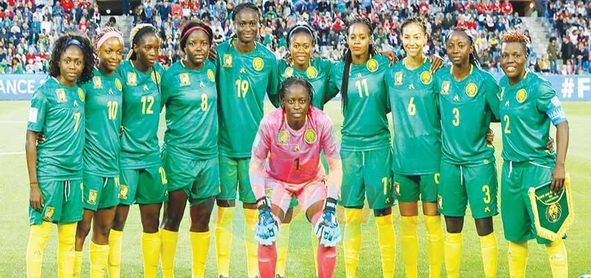 Les Lionnes ont reçu le strict nécessaire pour le Mondial féminin.