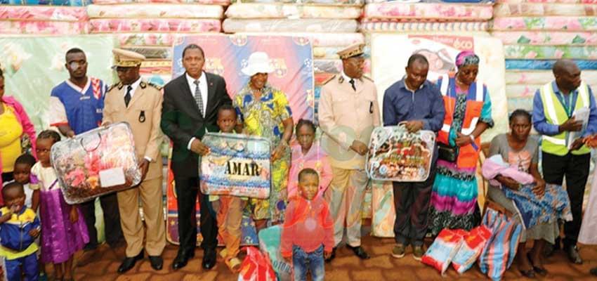 L'assistance du chef de l'Etat aux déplacés internes dans la Mifi accueillie avec faste.