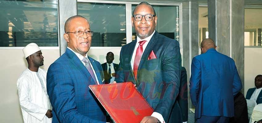 Image : Coopération Cameroun-Autriche: Le nouveau consul honoraire prend fonction