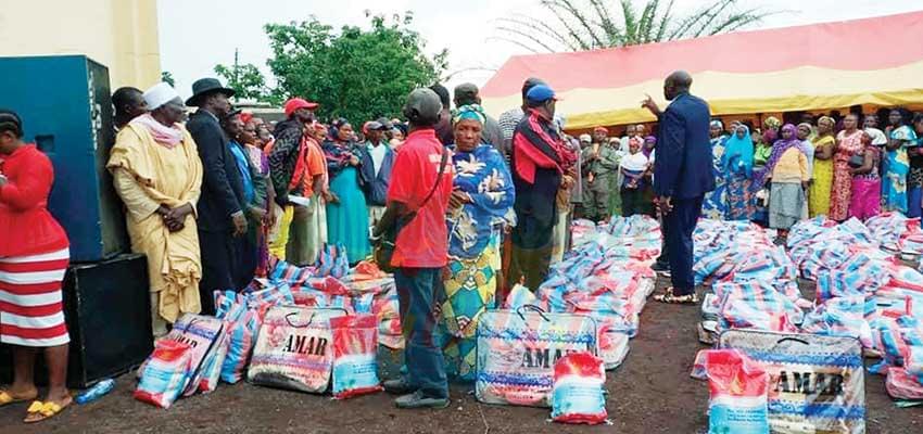 Dschang, Foumbot : Internally Displaced Persons Receive Assistance, Assurance